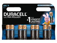 BATTERIJ DURACELL AA ULTRA POWER ALKALINE 8-PACK