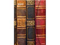 AGENDA 2020 ANTIQUE BOOKS MAGNETO DIARY 16X22