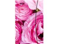 AGENDA 2020 FLOWERS FANTASY MAGNETO DIARY 10X15