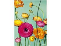 AGENDA 2020 FLOWERS FANTASY MAGNETO DIARY 16X22