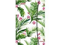 AGENDA 2020 FLOWERS MAGNETO DIARY 10X15
