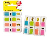 INDEXTABS 3M POST-IT SMAL 6834 ASS