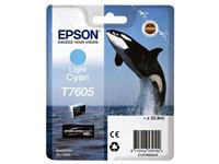 INKCARTRIDGE EPSON T7605 LICHT BLAUW