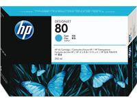 INKCARTRIDGE HP 80 C4846A BLAUW