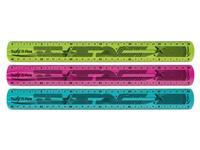 LINIAAL MAPED TWIST'N FLEX 30CM ASS