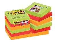 MEMOBLOK 3M POST-IT 622 SUPER STICKY 47.6X47.6 MAR