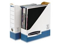 TIJDSCHRIFTCASSETTE BANKERS BOX SYSTEM A4 BLAUW WI