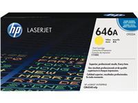 TONERCARTRIDGE HP 646A CF032A 12.5K GEEL