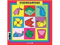 VOUWKARTON PAPYRUS VIERKANT 12X12CM 105GR