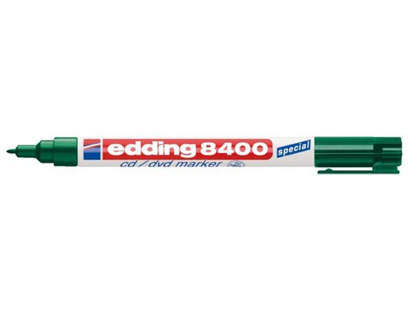 CD MARKER EDDING 8400 ROND 0.5-1MM GROEN