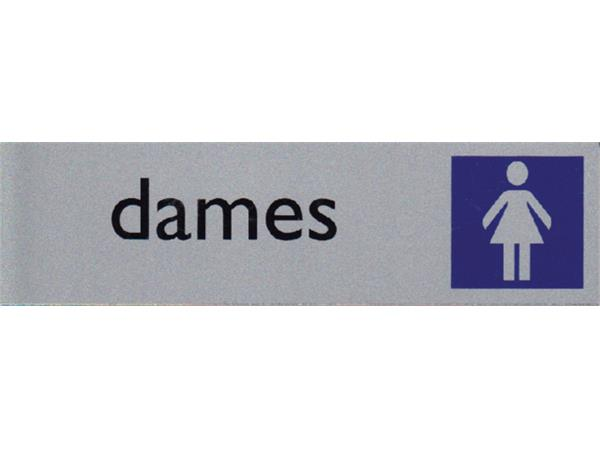INFOBORD PICTOGRAM DAMES 165X44MM