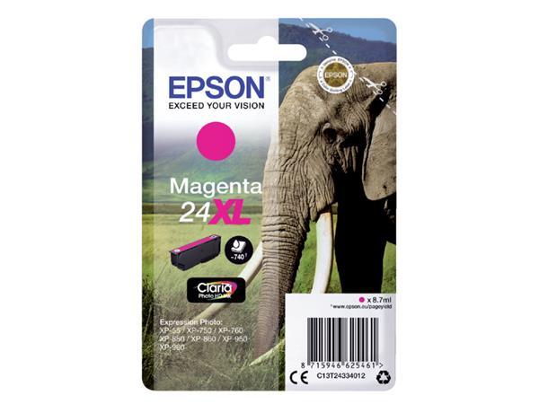 INKCARTRIDGE EPSON 24XL T2433 ROOD
