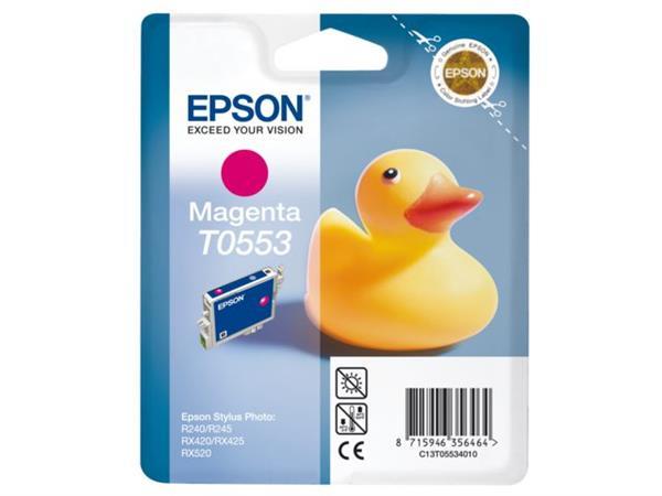 INKCARTRIDGE EPSON T055340 ROOD