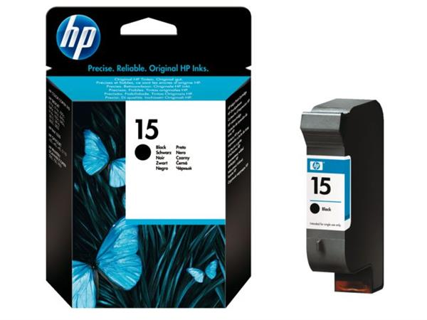 INKCARTRIDGE HP 15 C6615DE ZWART