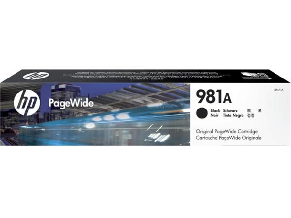INKCARTRIDGE HP 981A J3M71AE ZWART