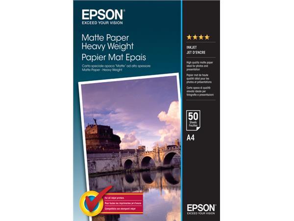INKJETPAPIER EPSON S041256 A4 167GR MAT