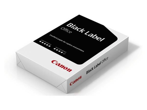 KOPIEERPAPIER BLACK LABEL OFFICE A4 80GR WIT NEN27