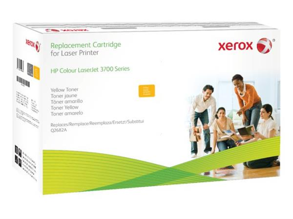 TONERCARTRIDGE XEROX HP Q2682A 6K GEEL