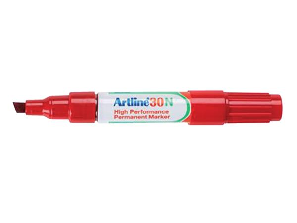 VILTSTIFT ARTLINE 30 SCHUIN 2-5MM ROOD