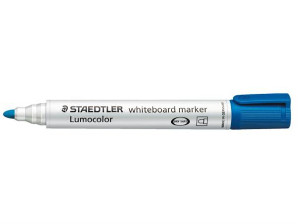 VILTSTIFT STAEDTLER 351 WHITEBOARD ROND 2MM BLAUW