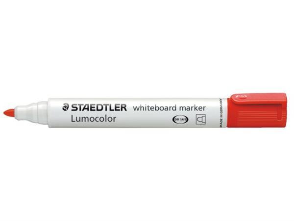 VILTSTIFT STAEDTLER 351 WHITEBOARD ROND 2MM ROOD
