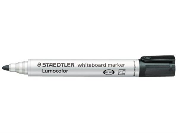 VILTSTIFT STAEDTLER 351 WHITEBOARD ROND 2MM ZWART