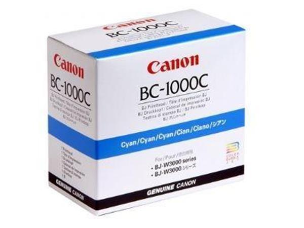 CANON BC-1000 printkop cyaan standard capacity 1-pak