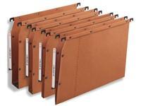 L'oblique Hangmap AZV Ultimate® Lateraal, A4, v-bodem, oranje (pak 25 stuks)