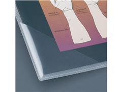 3L Zelfklevend Driehoekvak, Polypropyleen, 100 x 100 mm, Transparant (pak 100 stuks)