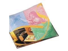 3L Zelfklevend Driehoekvak, Polypropyleen, 140 x 140 mm, Transparant (pak 100 stuks)