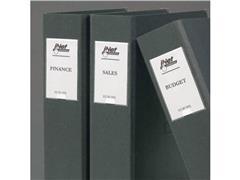 3L Zelfklevende Etikethouder, Polypropyleen, 102 x 55 mm, Transparant (pak 6 stuks)