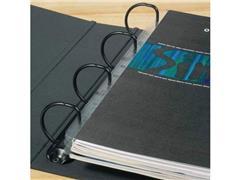 3L Zelfklevende hechtstrip A4, lengte 295 mm, 11 rings (pak 50 stuks)