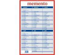 AURORA Mementoplaat Kalender, 210 x 330 mm, Nederlands