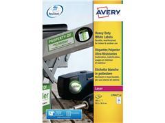 Avery Etiket L, Weerbestendig, 99,1 x 38,1 mm (pak 280 stuks)
