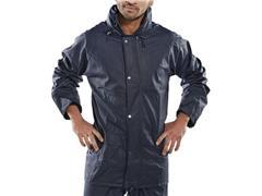 B DRI Super Regenjas, Maat XL, Blauw