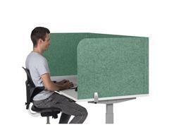Bakker Elkhuizen BE Safety Screen, U-model, 1600 x 600 x 800 mm, Groen