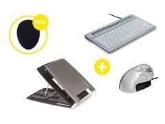 Bakker Elkhuizen Homeworking Essentials Plus BE met gratis mousepad (doos 4 stuks)