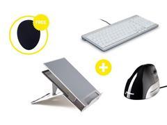 Bakker Elkhuizen Homeworking Premium Plus BE met gratis mousepad (doos 4 stuks)