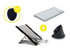 Bakker Elkhuizen Homeworking Professional Plus BE met gratis mousepad (doos 4 stuks)