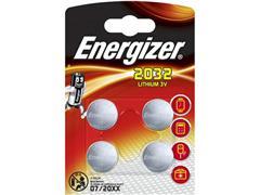 Energizer CR2032 Knoopcel Batterij, ø 20 mm, 3 V (blister 4 stuks)