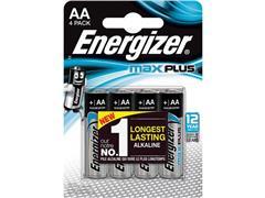 Energizer Max Plus AA Batterij, (blister 4 stuks)