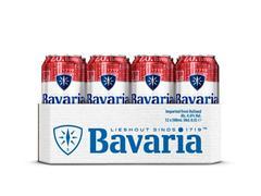 Bavaria Bier blikje 0.33L 0.0% alcohol (pak 24 x 330 milliliter)