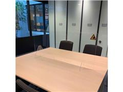 Jalema Transparant Conferentiescherm, Acryl, 1400 x 600 mm