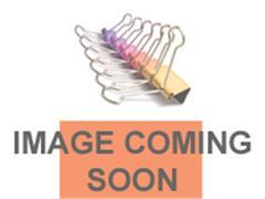 Bretelclip nylon met drukknopje/pk100