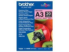 Brother A3 Ink-Jet fotopapier, 260 grams, wit (pak 20 vel)