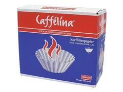 CAFFÉLINA Koffiefilter 25/9 cm, Bruin (doos 1000 stuks)