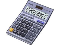 Casio DF-120TERII Bureaurekenmachine, 12-Cijferig, Grijs
