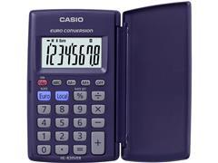 Casio HL-820VER Rekenmachine, 8-cijferig Display, Blauw