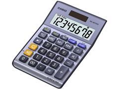 Casio MS-88TER II Bureaurekenmachine, 8-Cijferig, Grijs