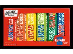 TONY'S CHOCOLONELY® Tony's Proeverijtje, 6 x 50 gram (pak 6 stuks)